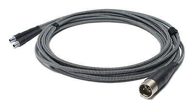 Corpse Cable GraveDigger for Sennheiser HD800 4-Pin XLR HD820 HD800 S 6ft.