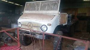 Mercedes-Benz Unimog 404 4wd Balliang East Moorabool Area Preview