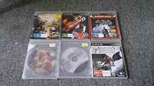 6x Playstation 3 Games Doonside Blacktown Area Preview