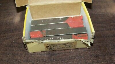 4 Gw Super Tool Co. Super Carbide Lathe Tool Bits Al10 C6 New Old Stock