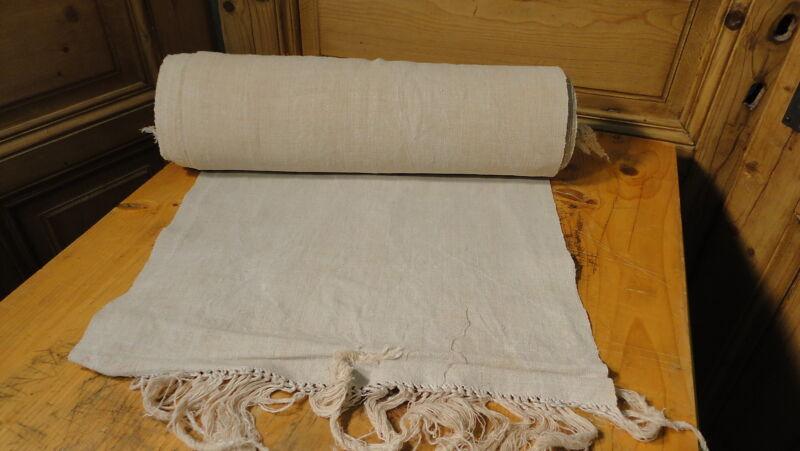 Homespun Linen Hemp/Flax Yardage 20 Yards x 19