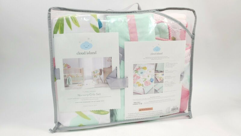 Cloud Island Crib Bedding Set Forest Frolic - , 4 Pieces new