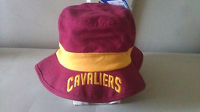 eb7aeae03ee Adidas NBA Clevland Cavaliers SIZE LARGE EXTRA LRG Men s Team Nation Bucket  Hat