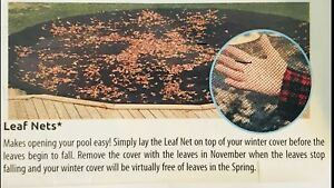 Leaf Net for In Ground Pool 18 x 36
