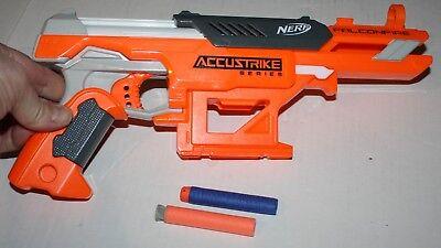 NERF N-Strike Elite AccuStrike Series FalconFire Blaster Toy Dart Gun W 2 darts