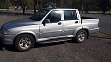 musso sports turbo diesel 4wd ute Bruce Belconnen Area Preview