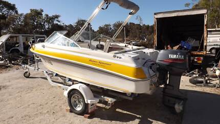 Haines signature 460r runabout -70hp Yamaha - mint condition