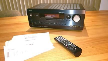 Integra HDMI, DTR-30.4 receiver, surround sound,speakers, theatre