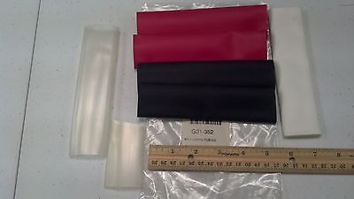 Heat Shrink Tube Kit Part G31-352 7 Pieces