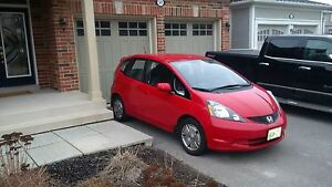 2010 Red Honda Fit