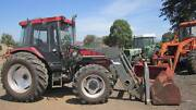 Case IH 4240 tractor 4wd with cab,front loader and hayforks Balliang East Moorabool Area Preview