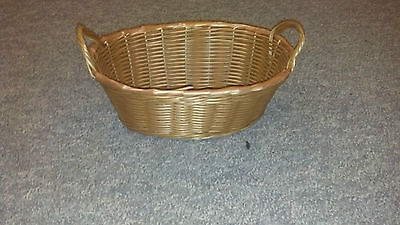 OVAL Shaped Wicker Basket Great for Easter, Flowers, Fruit and Decorations - Easter Fruit