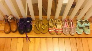 Toddler girls shoes size 6-7.5