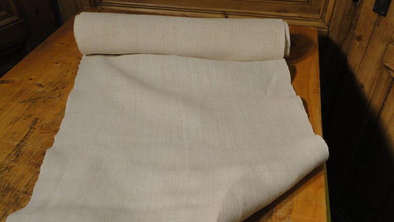 Homespun Linen Hemp/Flax Yardage 7 Yards x 19