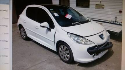 PEUGEOT 207 5DR 2008  HATCH WRECKING PARTS FROM $100 Cardiff Lake Macquarie Area Preview