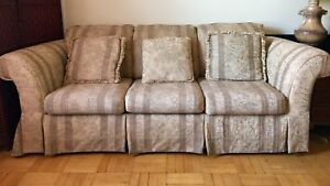 Couches, Love Seat and arm chair. 3 Pcs Furniture