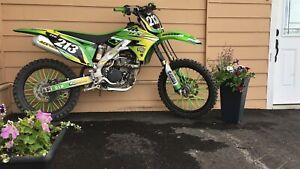 2013 250kx dirt bike