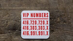 416 Rare Premium Phone Numbers