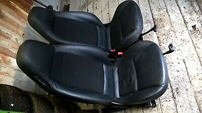 GENUINE SMART FORTWO 451 2007-2014 HEATED LEATHER SEATS X2 ~