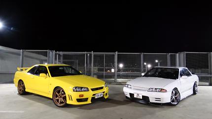 1998 R34 Nissan Skyline GTT Factory Manual Low kms