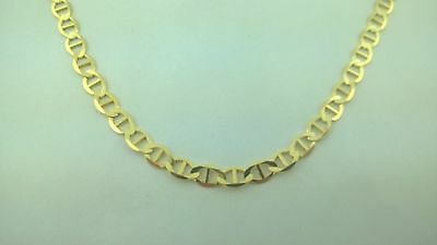 "14K Solid Yellow Gold Gucci  Necklace Chain 24""  elegant and Luxury I have 26"""