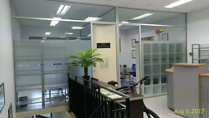 Glass partition panels free for self-collection