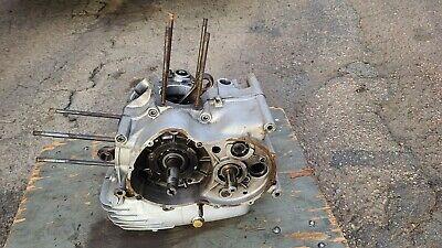 1973 74 Ducati 750 GT Engine Motor Bottom End Cases Crankshaft Transmission DM