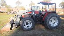 Case IH 4210 4wd with front loader Balliang East Moorabool Area Preview