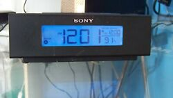 Sony ICF-C707 Nature Sounds Alarm Clock with Digital AM/FM Radio - Black.