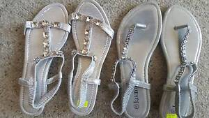 2 pairs of beautiful ladies sandals size 40 Smithfield Cairns City Preview