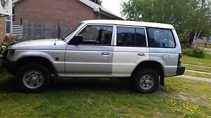 1997 Mitsubishi Pajero Longford Northern Midlands Preview
