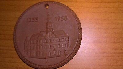 Porzellanmünze, Heimatfest im 725 jährigen Pirna 1958