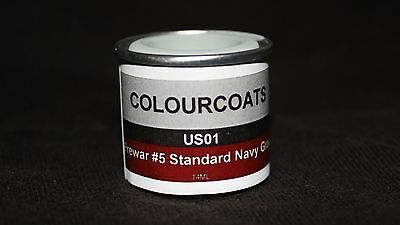 Colorcoats Prewar #5 Standard Navy Grey - US01