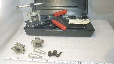 Flaring Tool Kit W Case Jasco Wolco Model 100 Lite Use Very Nice