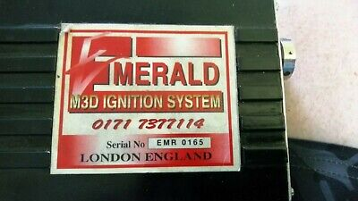 Emerald M3D Electronic Ignition System, Race, ECU, Mapping