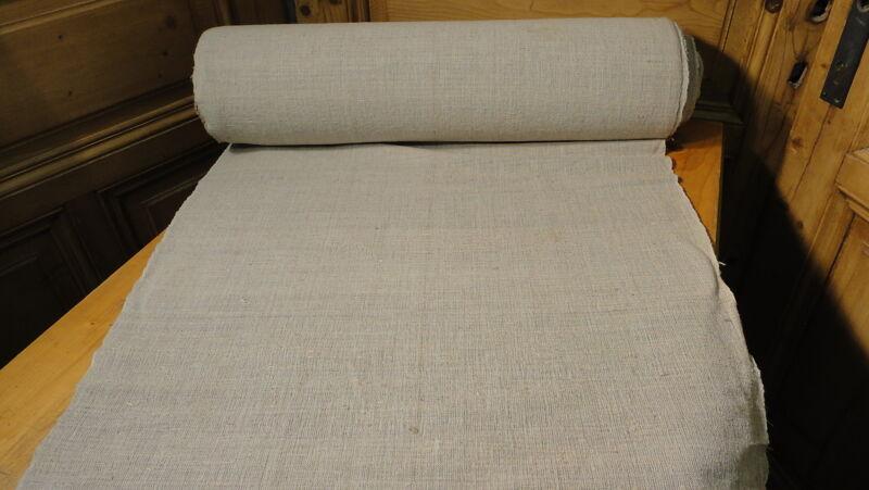 Homespun Linen Hemp/Flax Yardage 25.9 Yards x 25