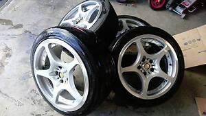 "RAYS VOLK Challenge Forged light weight Aluminium wheels 18"" Craigieburn Hume Area Preview"