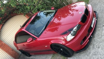 Bmw coupe e46 looke m3