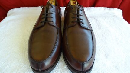 Mens John Lobb brown leather shoes UK9.5E US10.5F Windsor Brisbane North East Preview