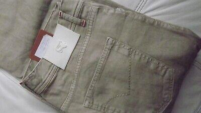 Marco Pescarolo Naples By Kiton Jeans Cotton + Linen TG 33-47 250,00 SHLINE-9174