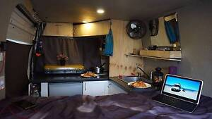 2002 Ford Transit VH LWB RV - 2015 Fit-out/sleeps 3 - ALL-IN!!! Melbourne CBD Melbourne City Preview