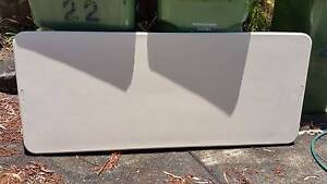 Trestle Table, Poly Top Folding Legs, Rectangle in A1 Condition North Wahroonga Ku-ring-gai Area Preview