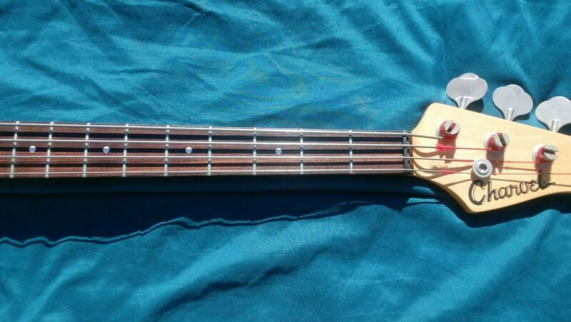 1995 Charvel P Bass Guitar made in Japan with hard Case