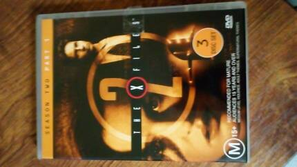 Xfiles series 1 complete series 3 disc