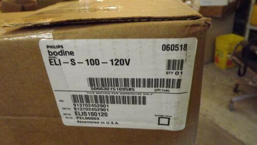 Phillips Bodine Emergency Lighting Model ELI-S-100-120V