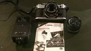 Canon AE1 The Official 35MM Camera of the1980 Olympic Winter Game Ambarvale Campbelltown Area Preview