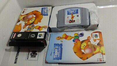 Tigger's Honey Hunt - Komplett/OVP Nintendo 64 N64