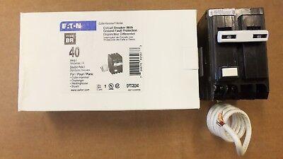 New Eaton Cutler Hammer Gftcb 2 Pole 40 Amp Gftcb240 Circuit Breaker Gfi Gfcb