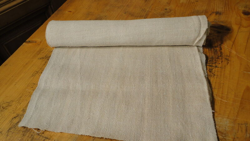 Homespun Linen Hemp/Flax Yardage 7 Yards x 17