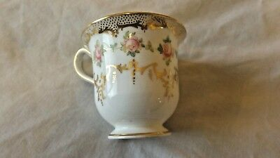 "Vintage Bone China Demitasse Cup 2 1/4"" Floral Design  X5099M Wedgwood CL9-18"